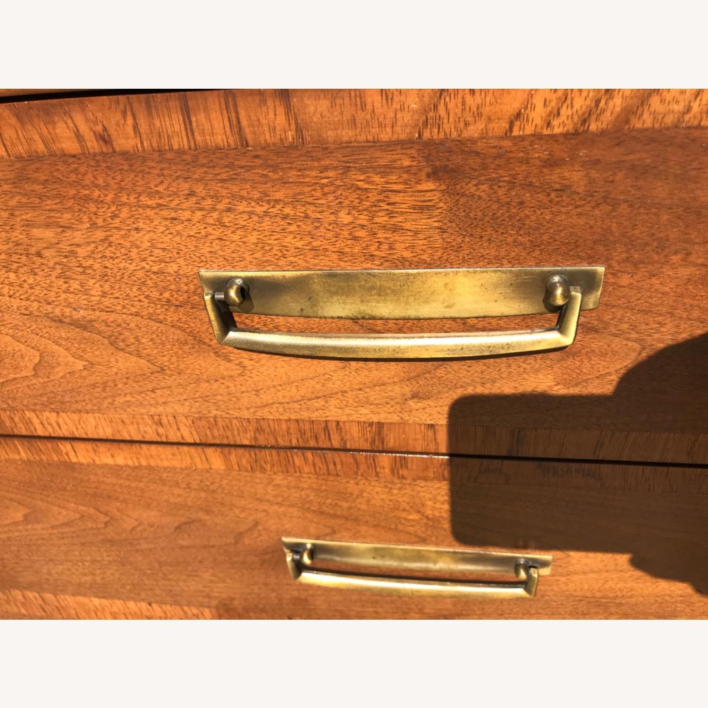 Stanley  Vintage Mid Century 1950s Walnut Dresser - image-13