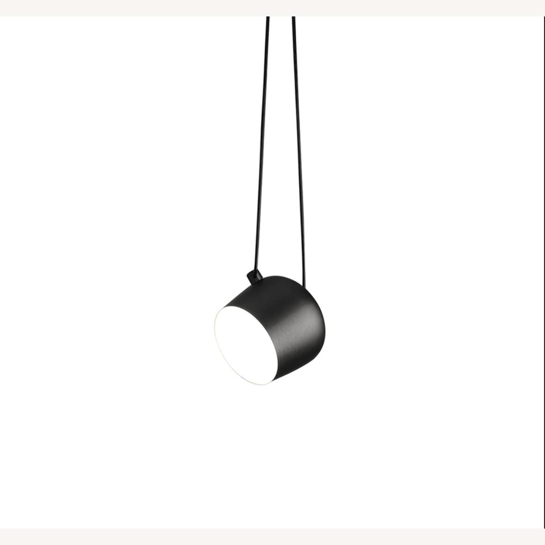 Flos LED Pendant Light in Black - image-1