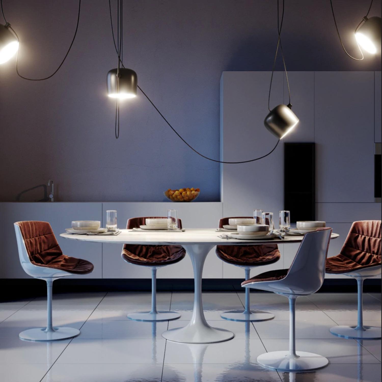 Flos LED Pendant Light in Black - image-3