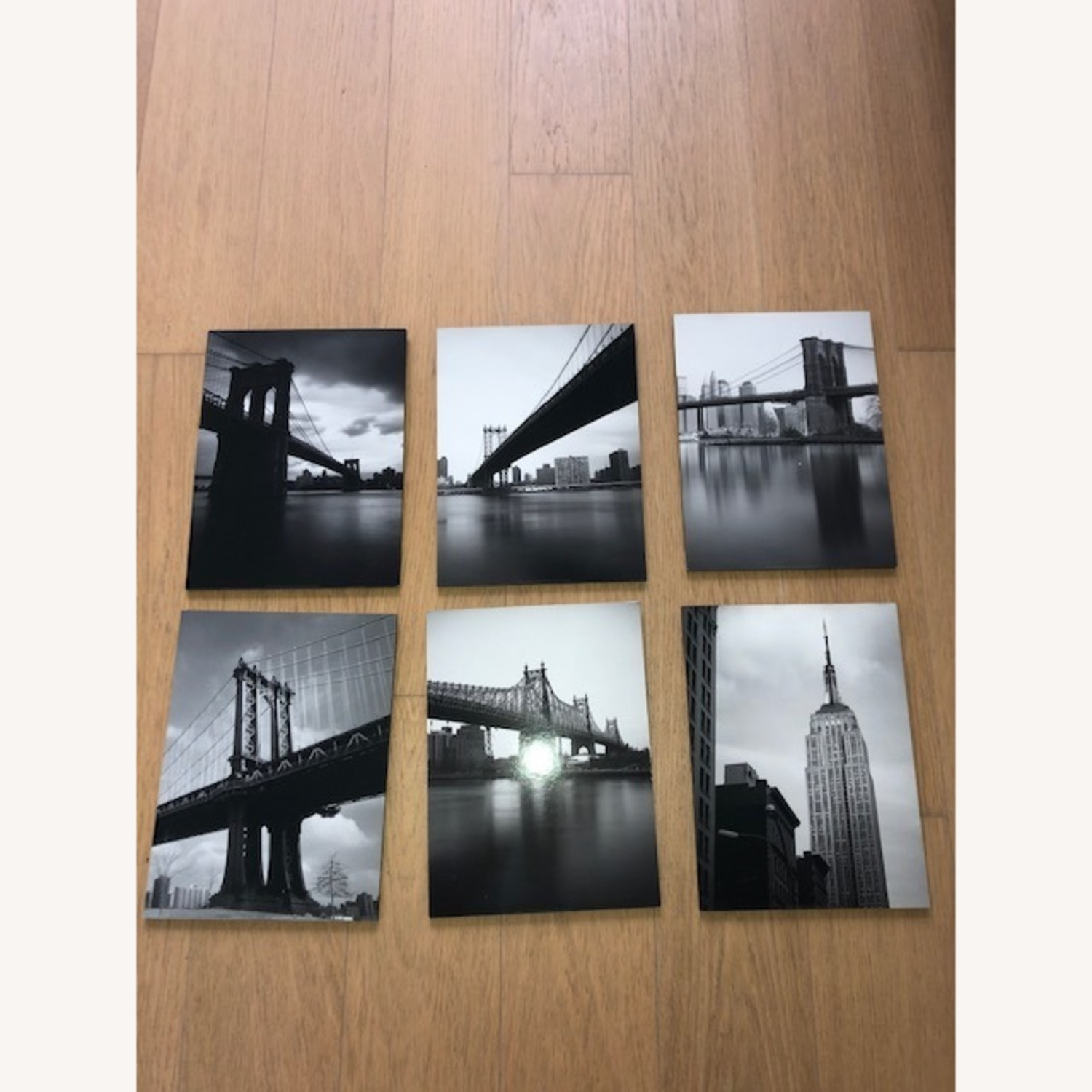 IKEA NYC Black & White Photo Gallery Wall Set of 9 - image-3