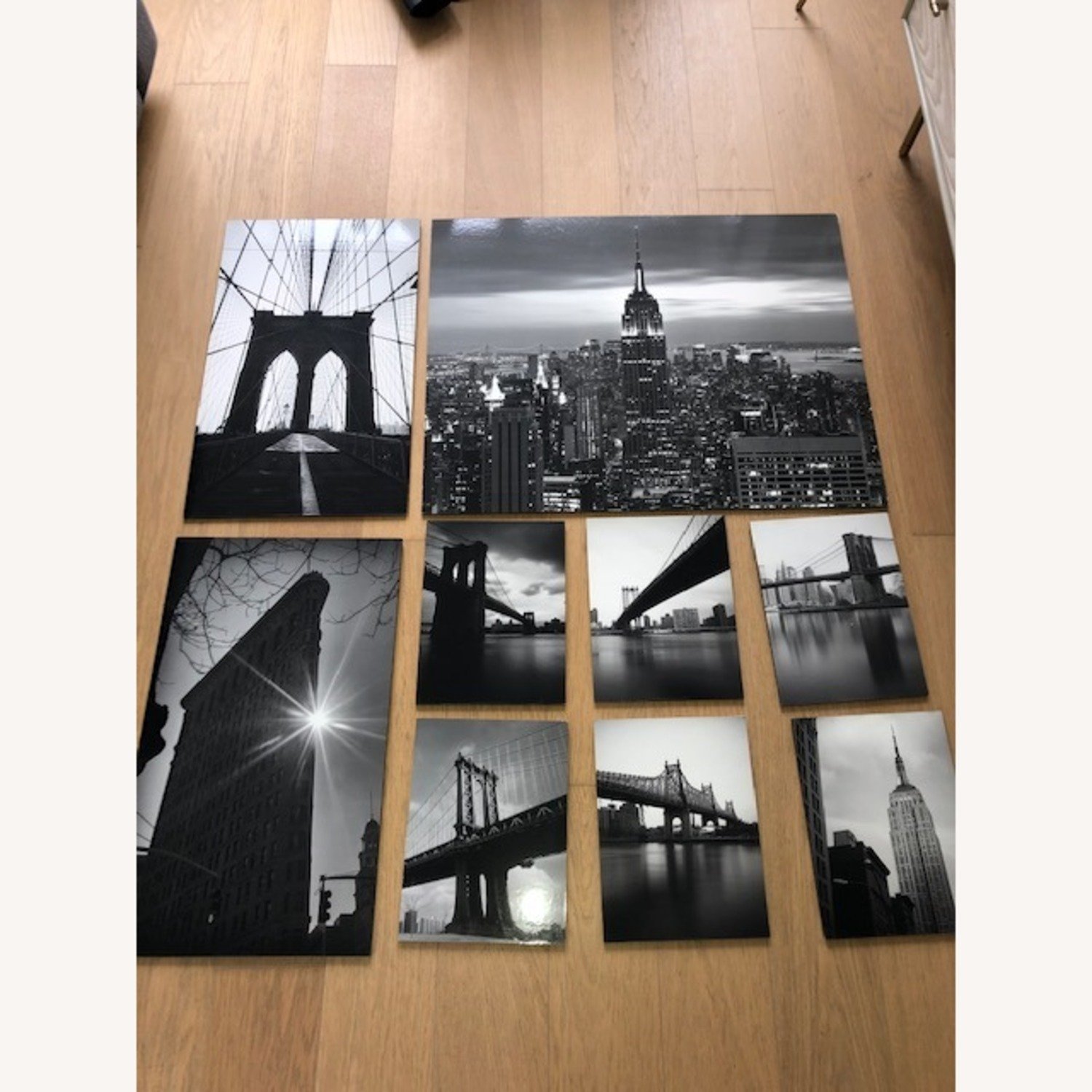 IKEA NYC Black & White Photo Gallery Wall Set of 9 - image-7