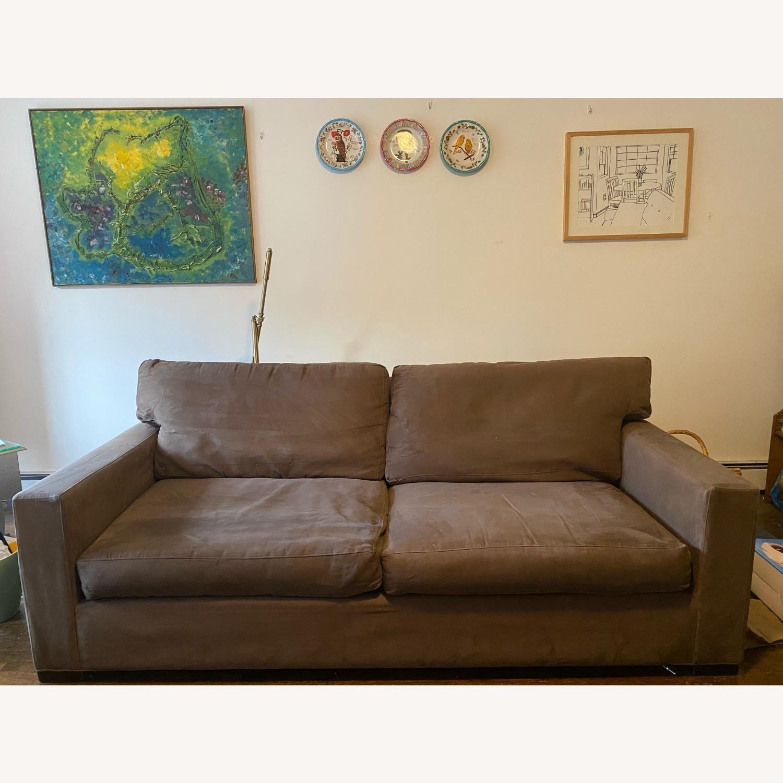 Crate & Barrel Axis II Sofa - image-4