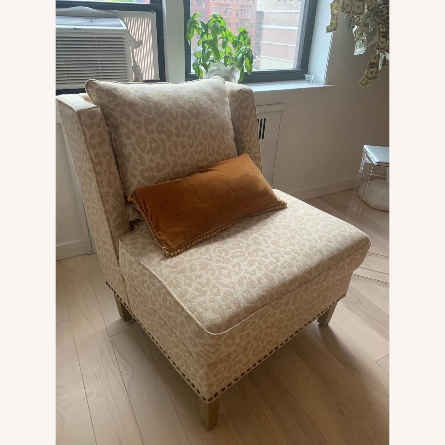 Natural Accent Chair - image-2