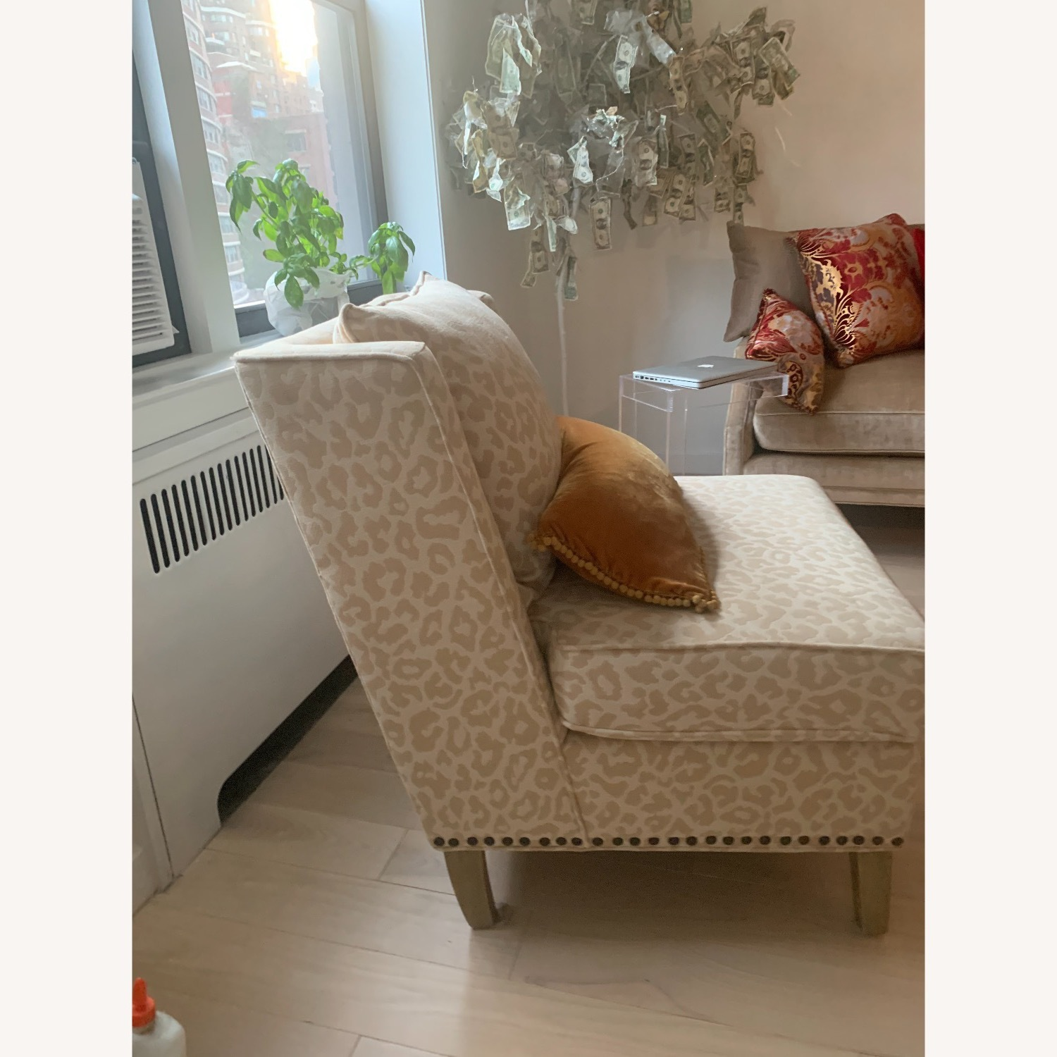Natural Accent Chair - image-3