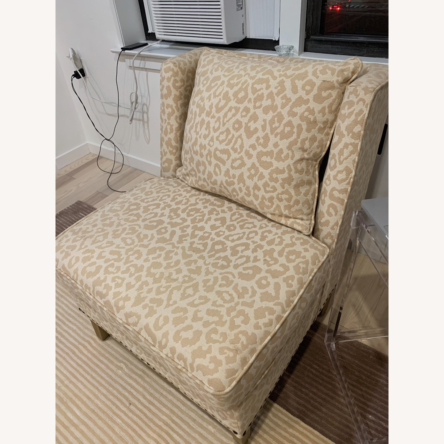 Natural Accent Chair - image-1