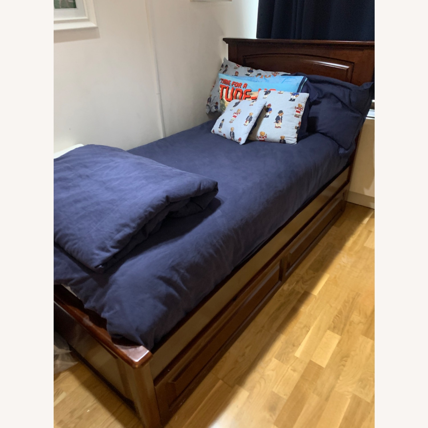 Trundle Twin Bed - image-0