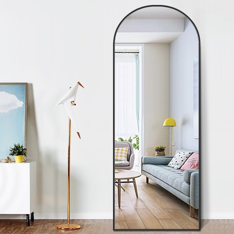 Wayfair Arched Floor Full Length Mirror - image-2