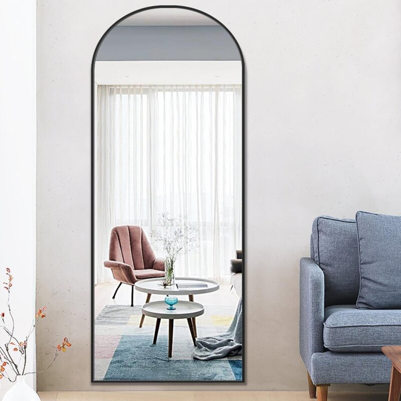 Wayfair Arched Floor Full Length Mirror - image-1