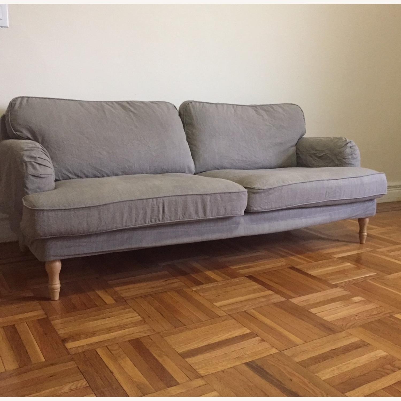 IKEA Stocksund Grey Sofa - image-4