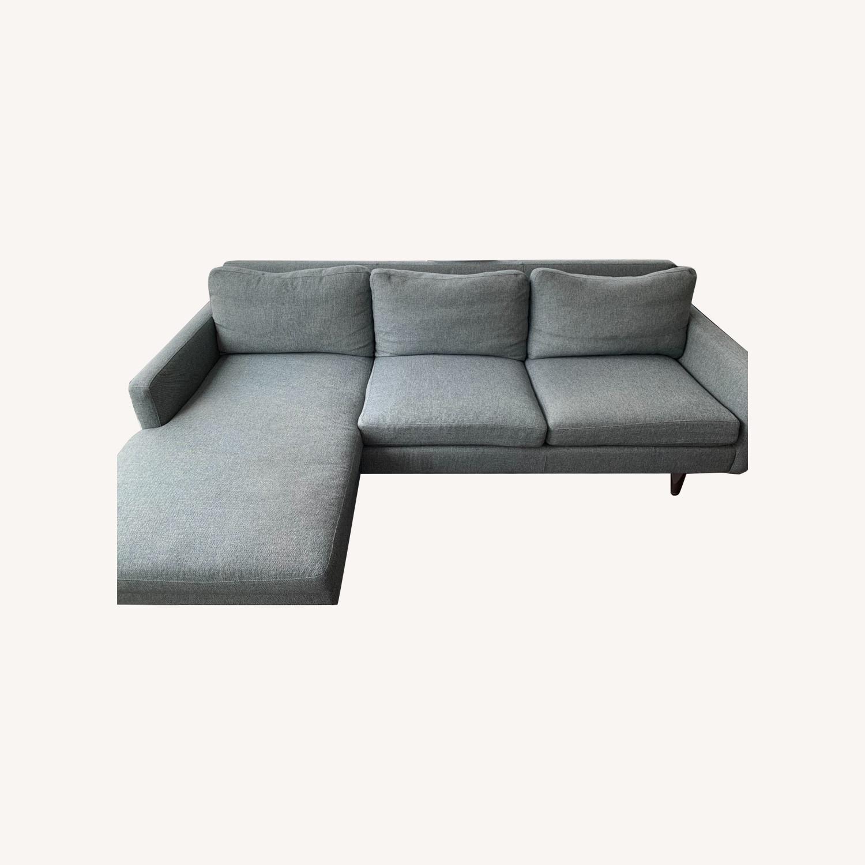 Room & Board Jasper Sofa with Chaise - image-0