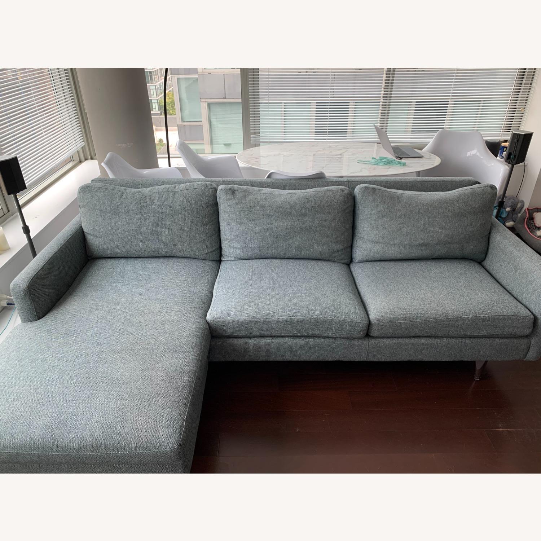 Room & Board Jasper Sofa with Chaise - image-1