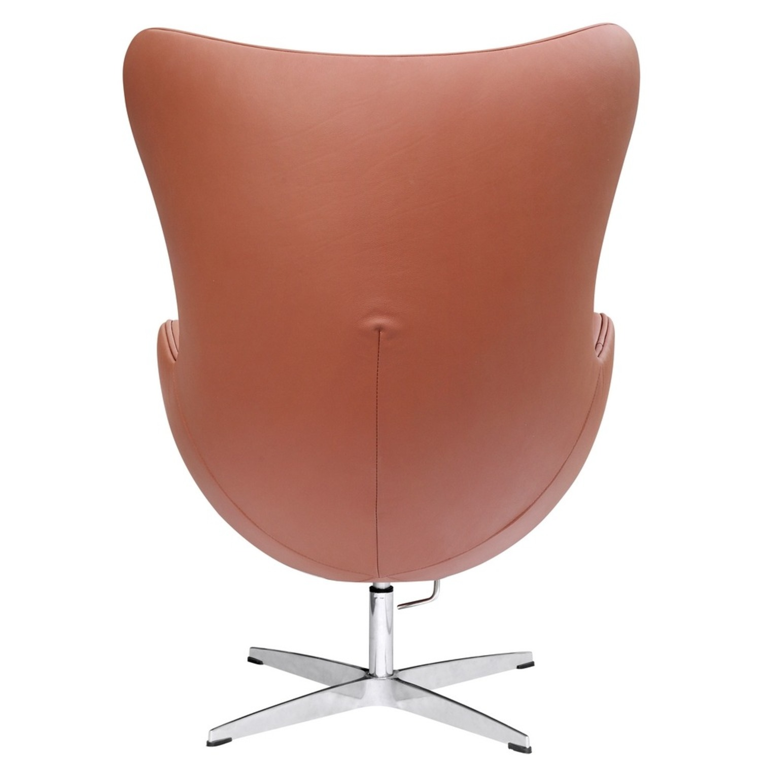 Inner Chair In Light Brown Leather - image-2