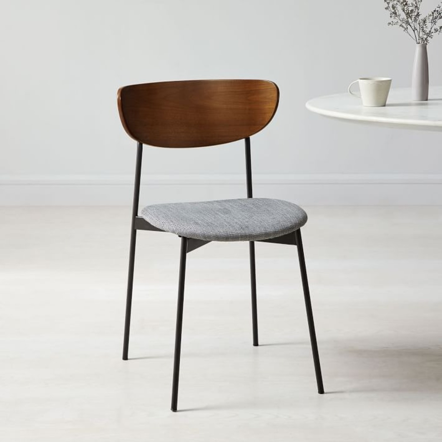 West Elm Mid Century Modern Petal Dining Chair - image-2