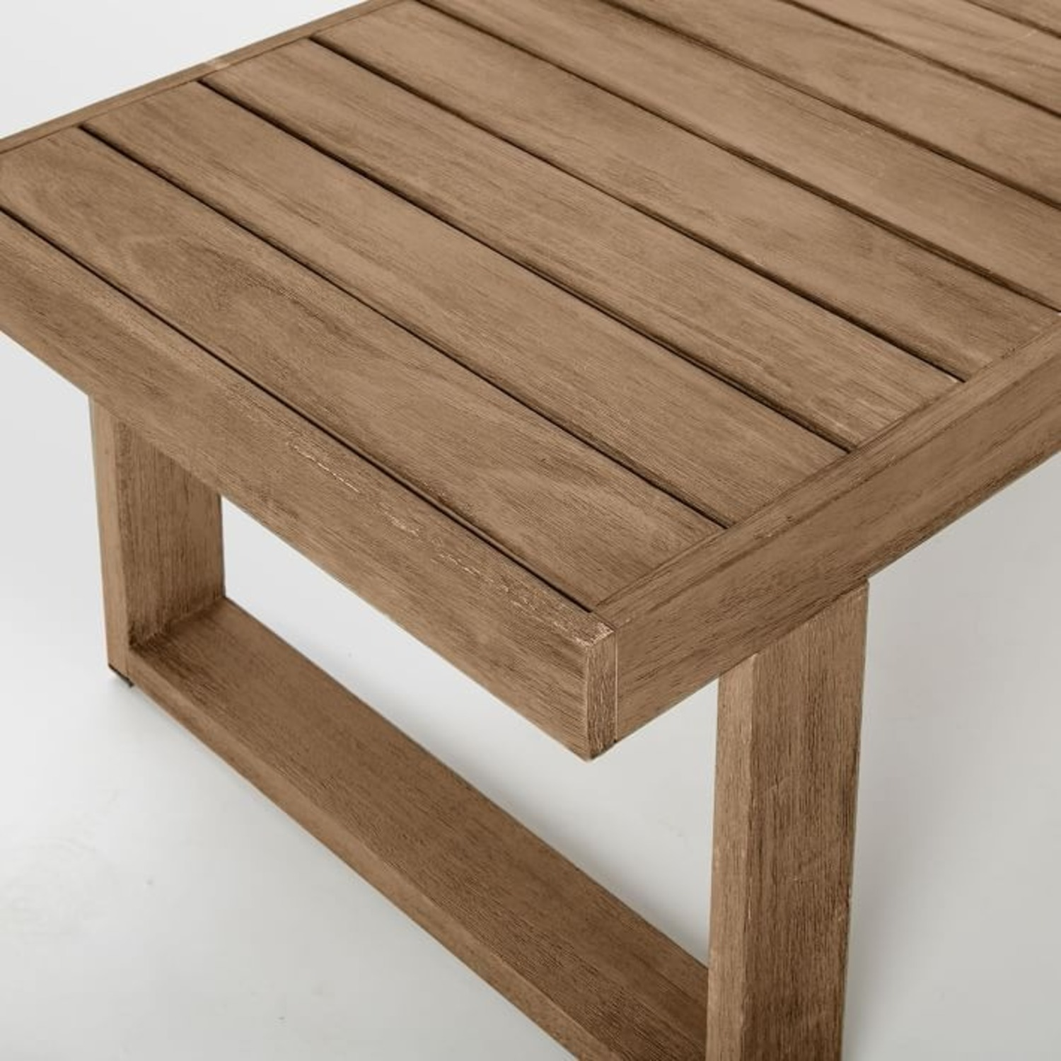 West Elm Portside Outdoor Coffee Table , Driftwood - image-3
