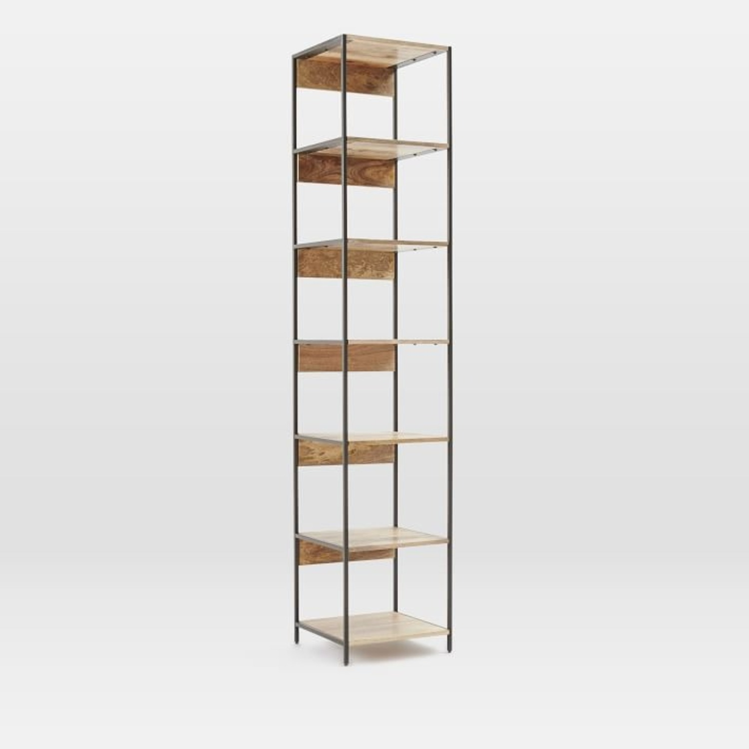 West Elm Industrial Storage Modular Bookshelf - image-1