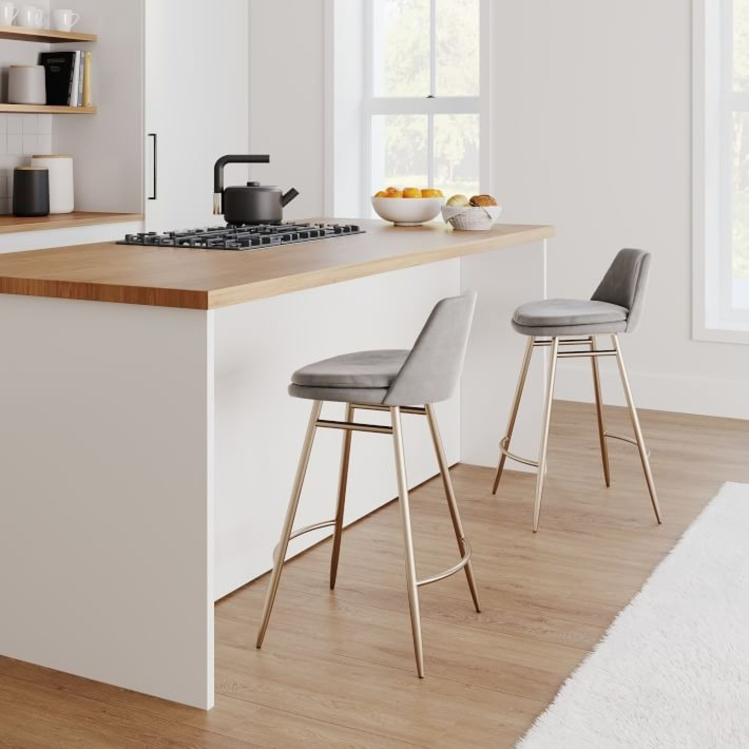 West Elm Finley Counter Stool - image-1