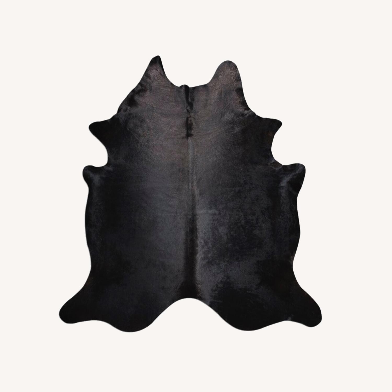 Extra Large Cow Rug (black) - image-0