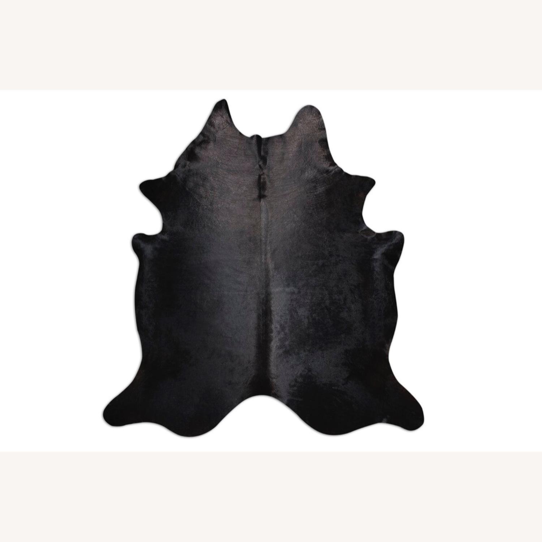 Extra Large Cow Rug (black) - image-1