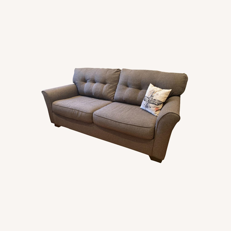 Ashley Furniture Tibbee Slate Sofa - image-0