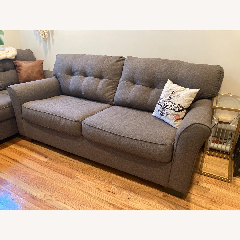 Ashley Furniture Tibbee Slate Sofa - image-1