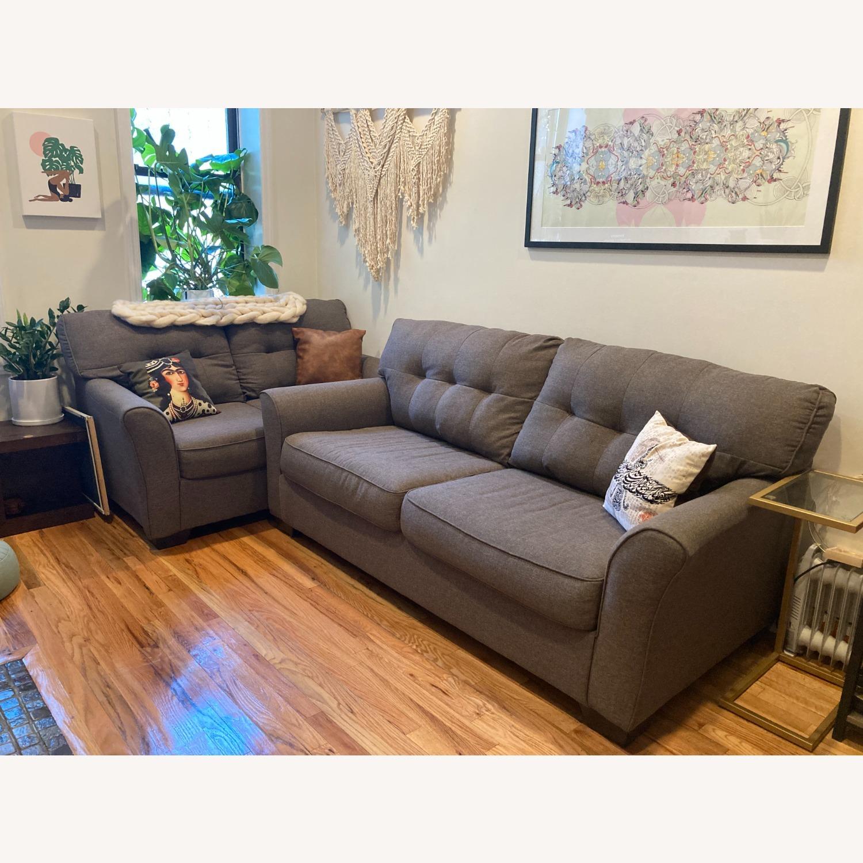 Ashley Furniture Tibbee Slate Sofa - image-3