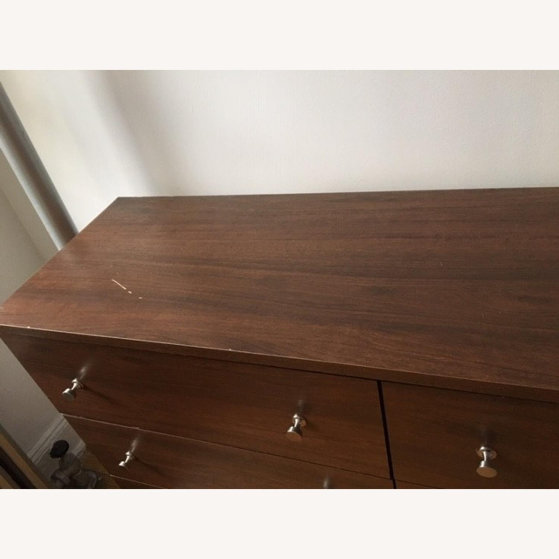 Mid Century Modern 6 Drawer Dresser - image-1