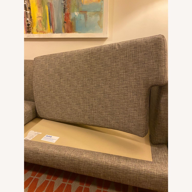 CB2 Avec Mushroom Tweed Sofa - image-8