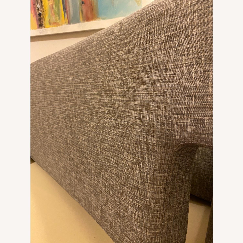 CB2 Avec Mushroom Tweed Sofa - image-9