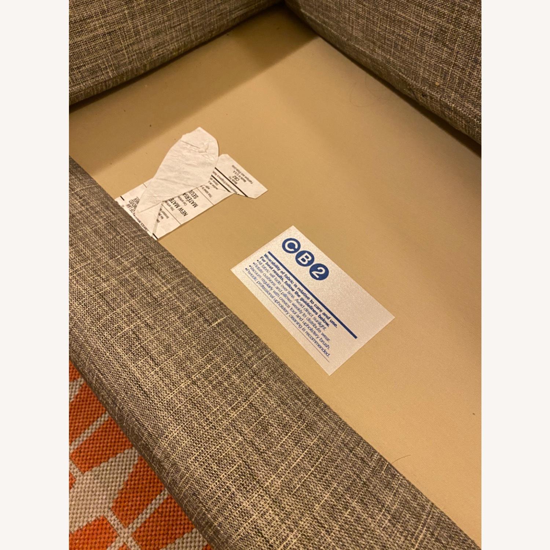 CB2 Avec Mushroom Tweed Sofa - image-6