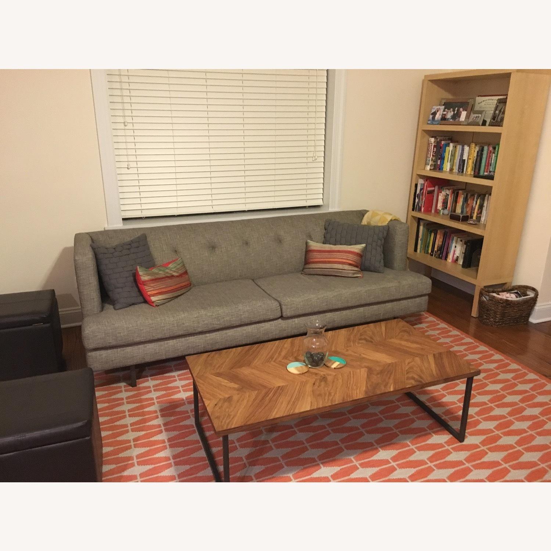 CB2 Avec Mushroom Tweed Sofa - image-0