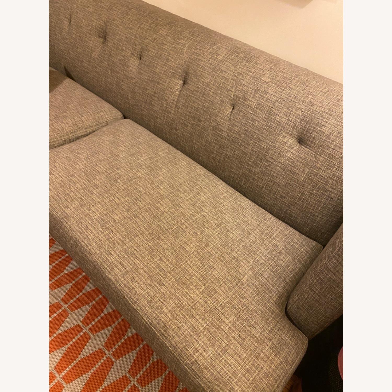 CB2 Avec Mushroom Tweed Sofa - image-5