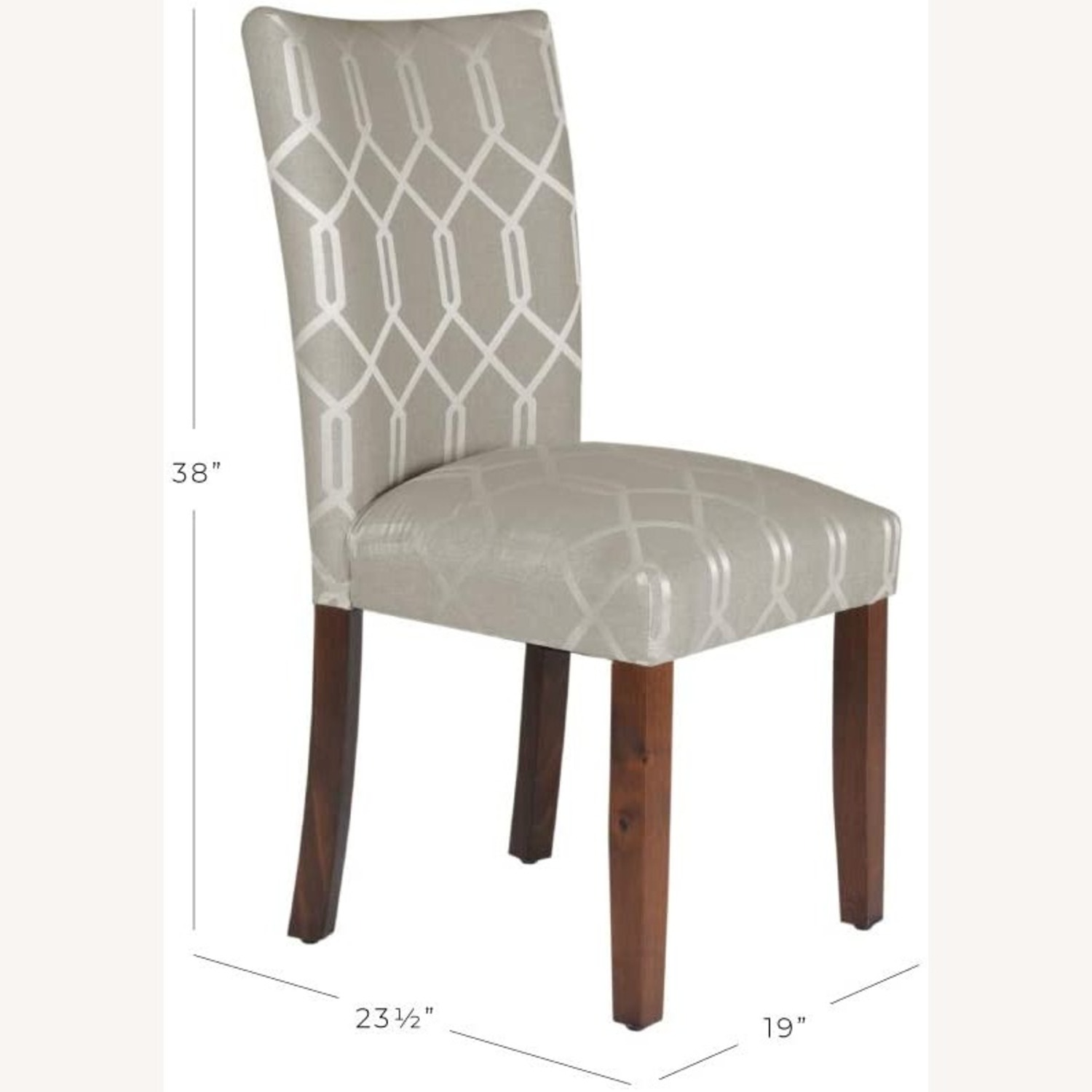 Upholstered Accent Dining Chair - image-2