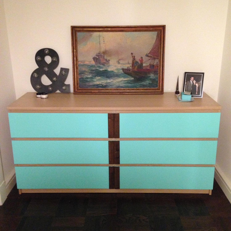 IKEA Customized Malm Dresser - image-1
