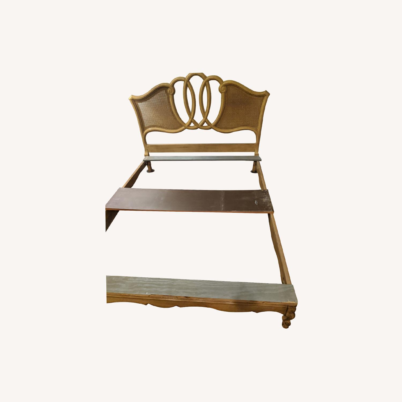 Antique Queen Bed - image-0