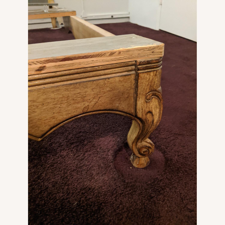 Antique Queen Bed - image-2