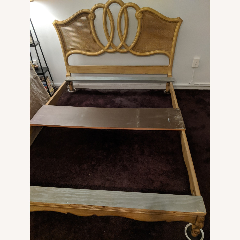 Antique Queen Bed - image-1
