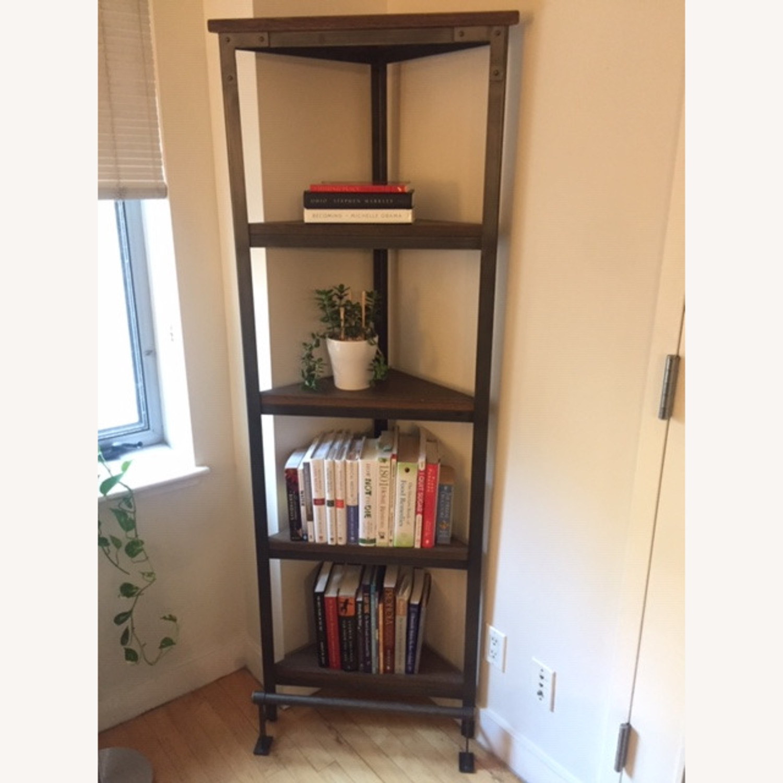 World Market Emerson Corner Bookcase - image-1