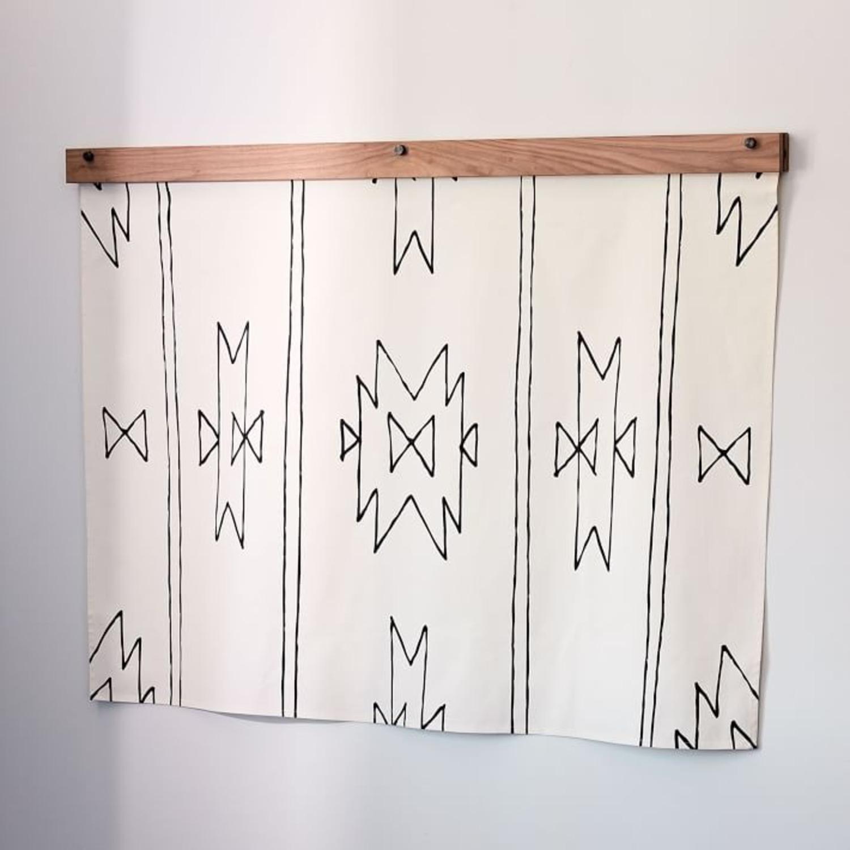 West Elm Little Korboose Organic Cotton Tapestry - image-1