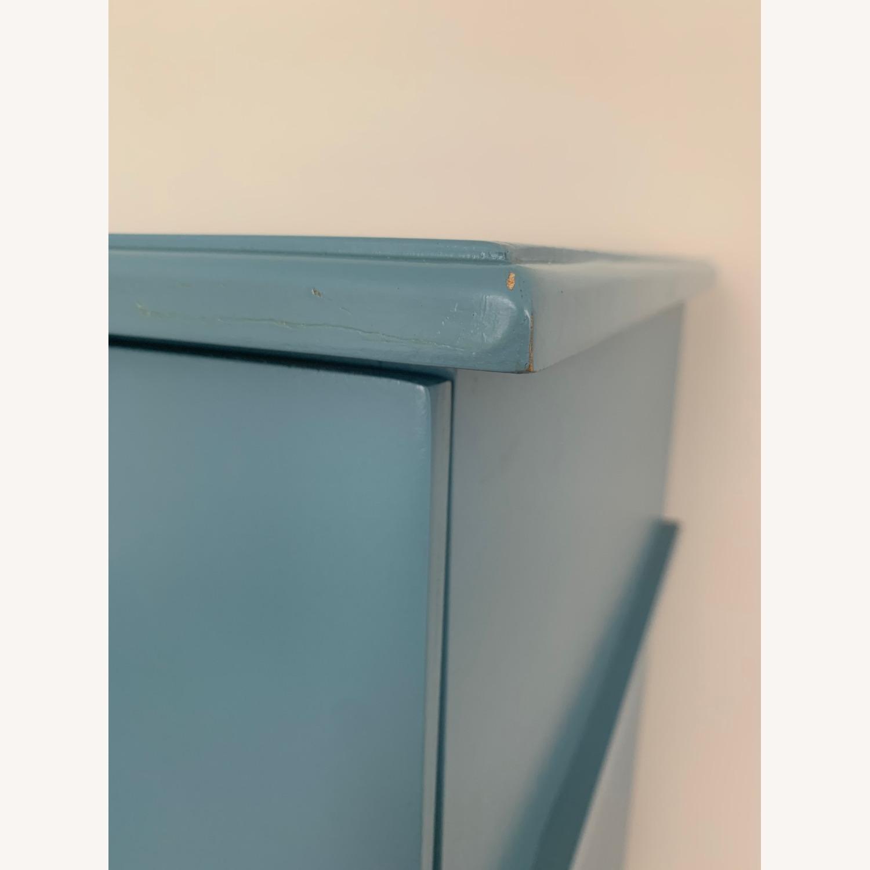 Gothic Furniture Light Blue Dresser - image-3