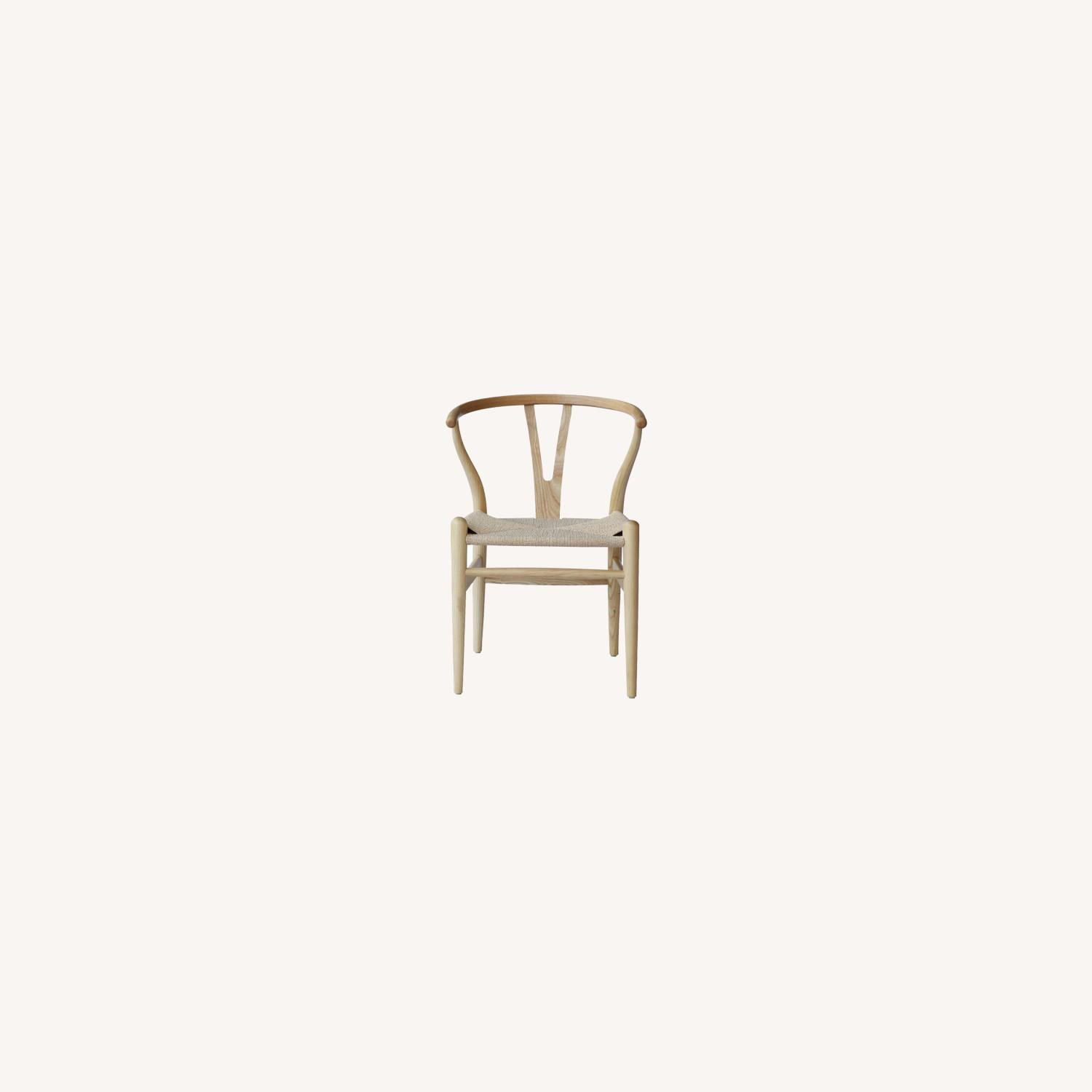 Dining Chair In Natural Frame & Natural Hemp Seat - image-8