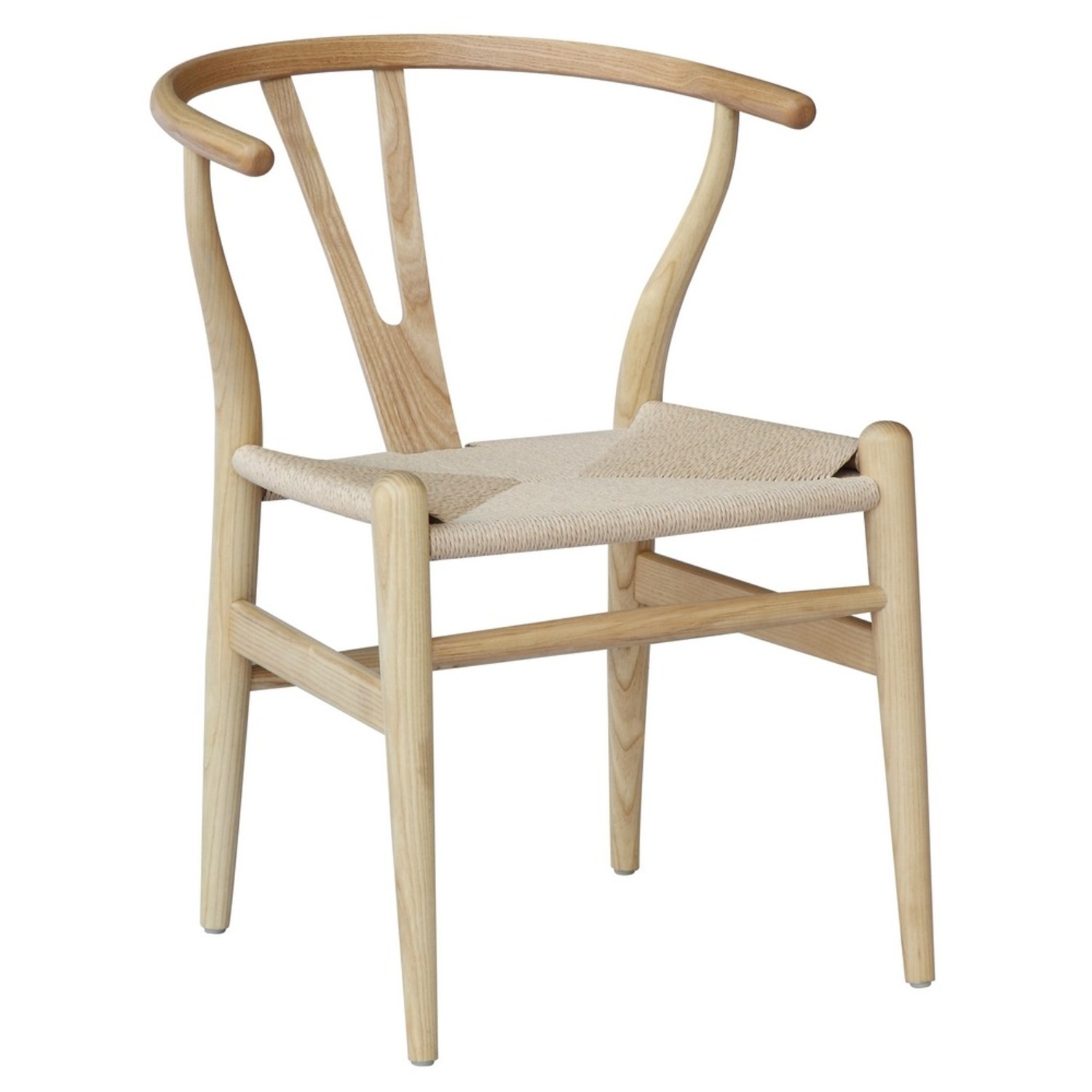 Dining Chair In Natural Frame & Natural Hemp Seat - image-0