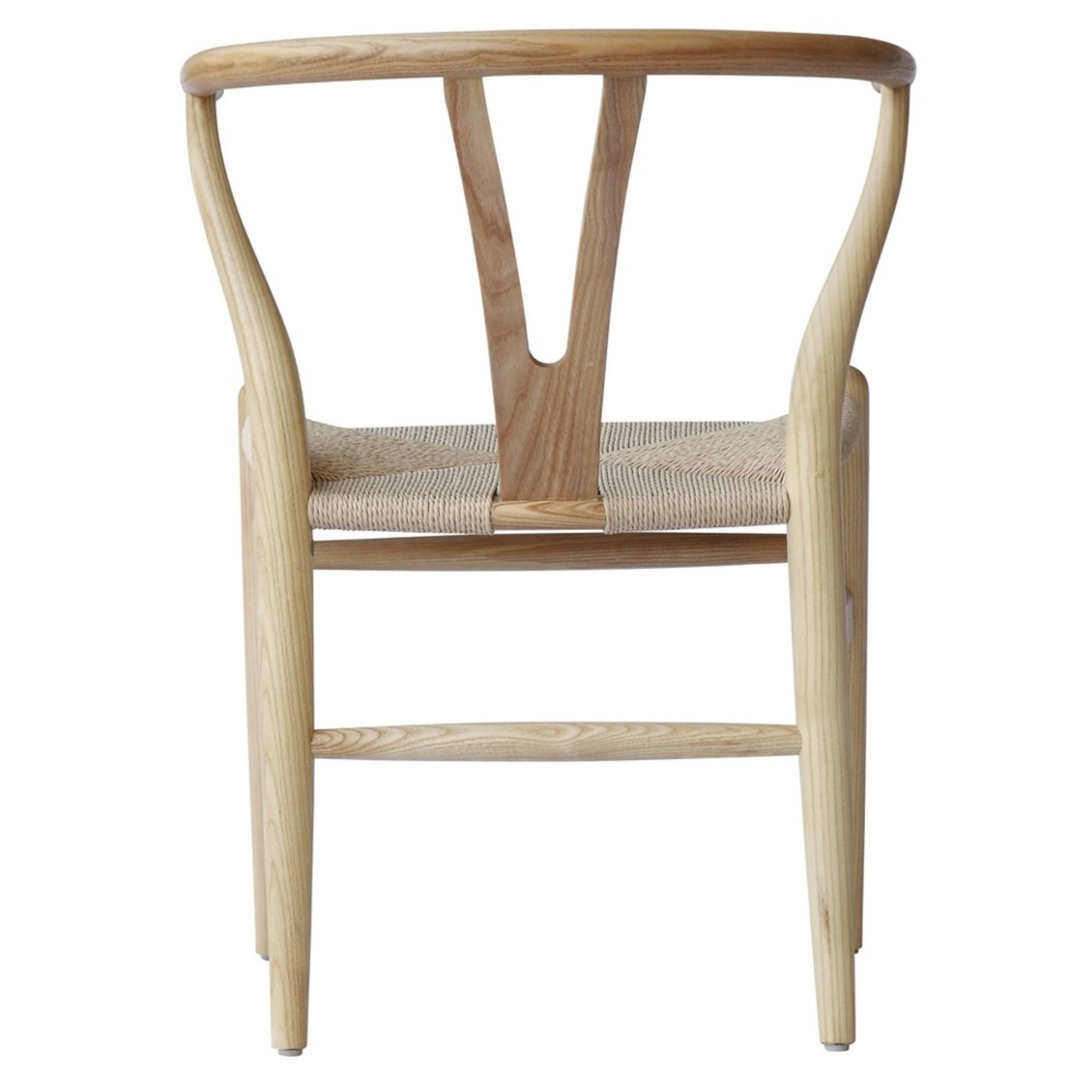 Dining Chair In Natural Frame & Natural Hemp Seat - image-2