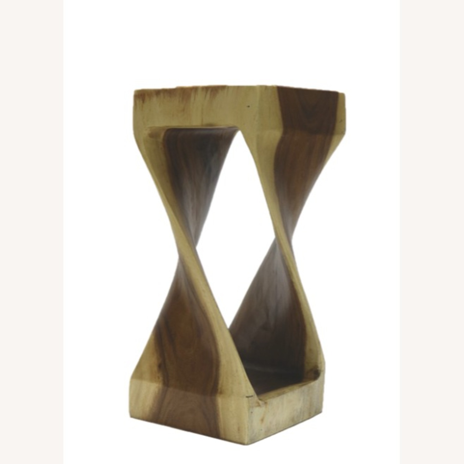 Counter Stool In Walnut Solid Wood Finish - image-0