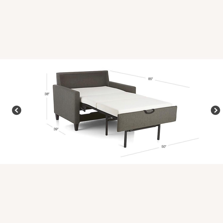 Crate & Barrel Karnes Twin Sleeper Sofa - image-3
