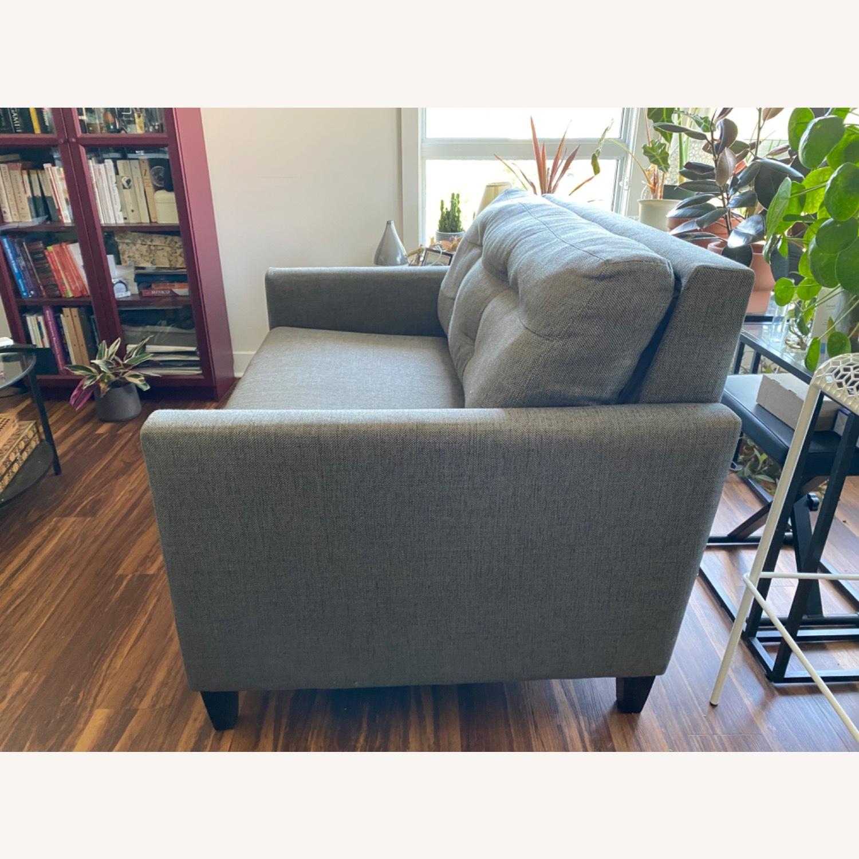 Crate & Barrel Karnes Twin Sleeper Sofa - image-2