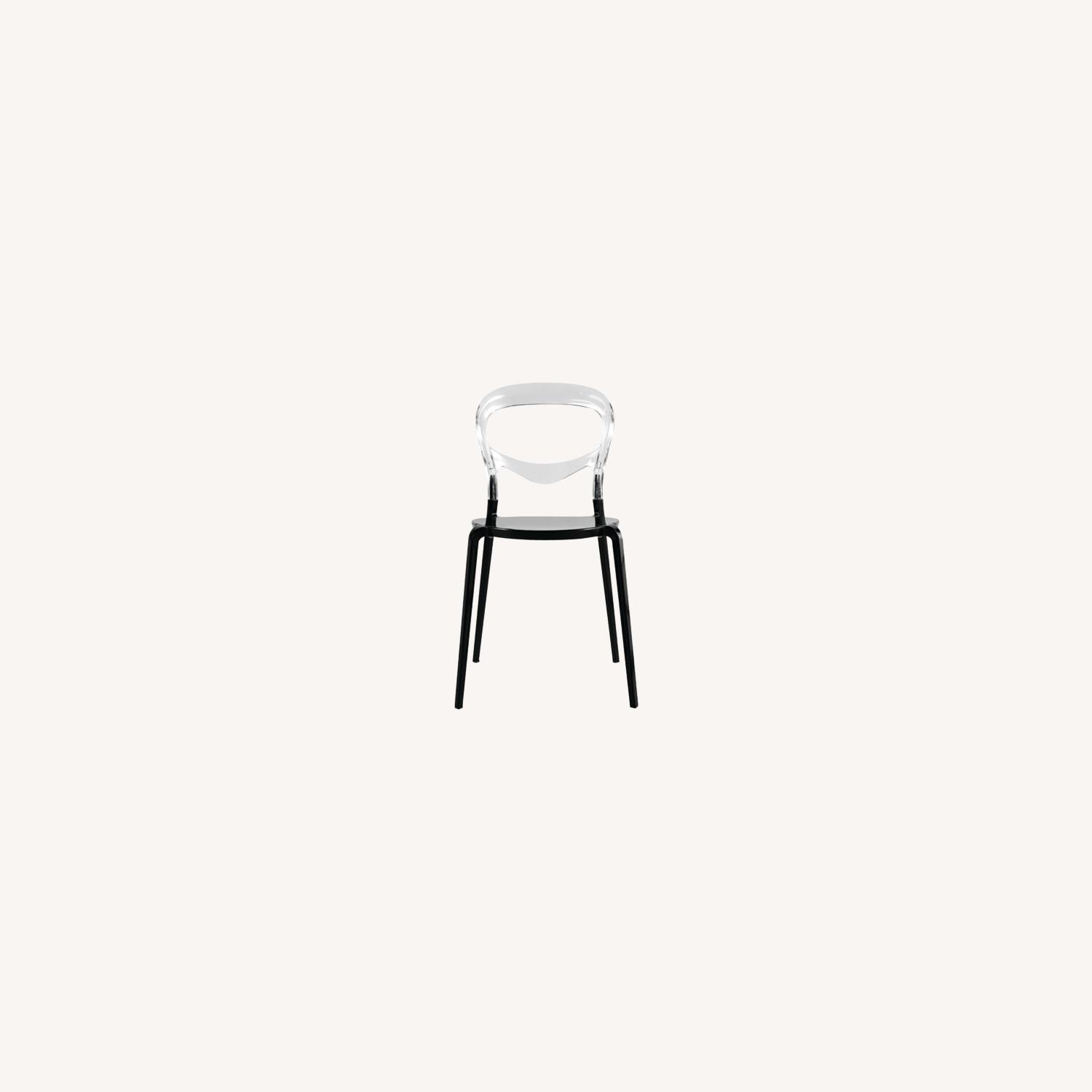 Dining Chair In Transparent Acrylic Finish - image-4