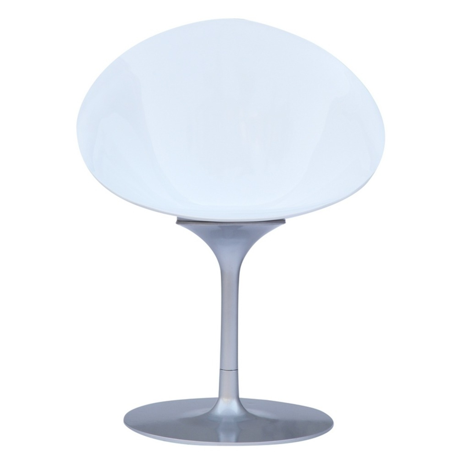 Side Chair In White ABS Frame - image-4