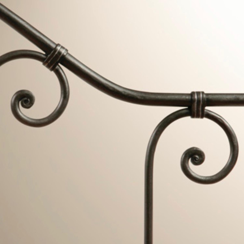 Charles P Rogers Antique Brass Breton Headboard - image-3