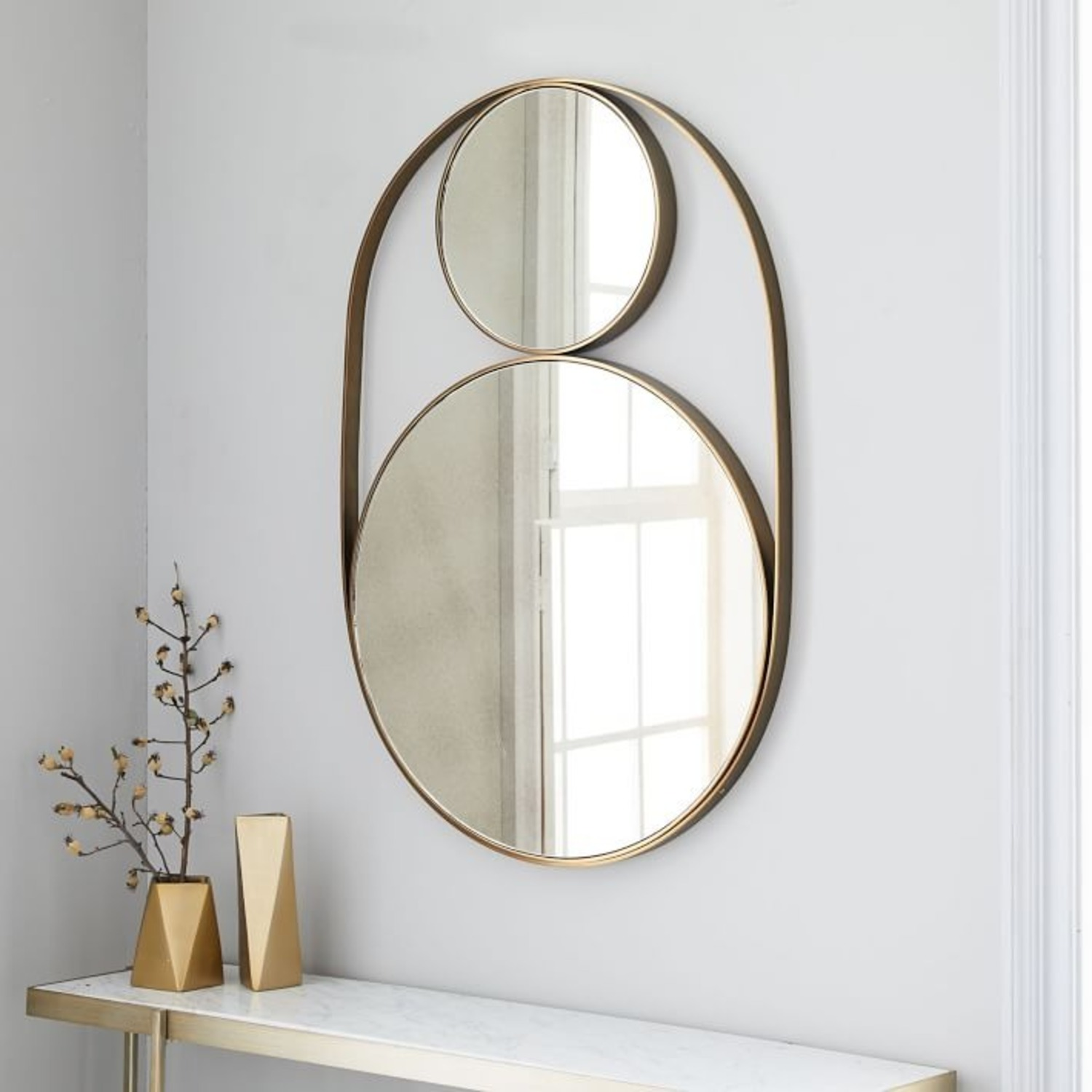 West Elm Celestial Wall Mirror - image-0