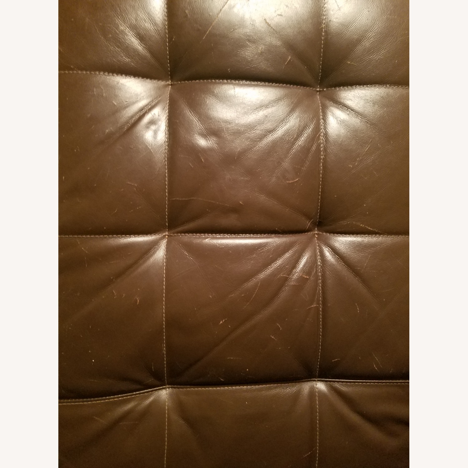 Macy's Stylish Leather Sectional - image-5
